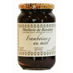 Confiture de framboises au miel - 460g